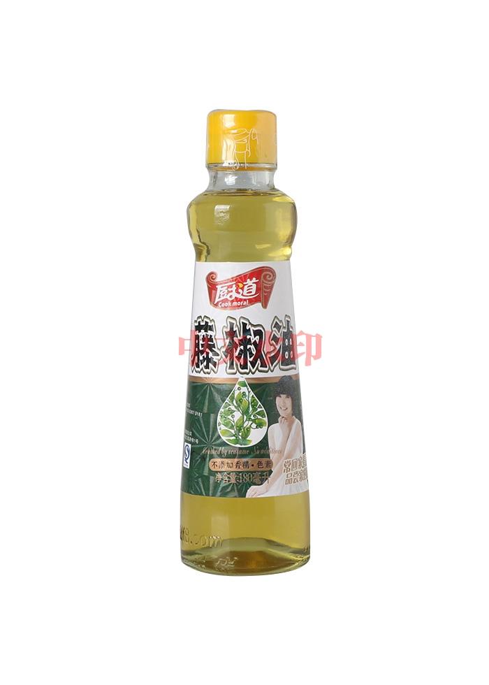 厨道180ML藤椒油