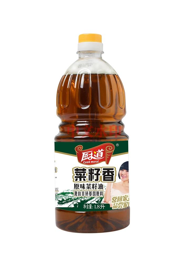 厨道1.8L原味菜籽油