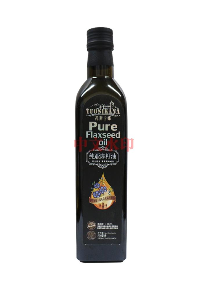 托斯卡娜500ML纯亚麻籽油