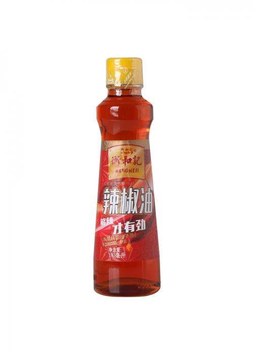 衡和记180ML辣椒油