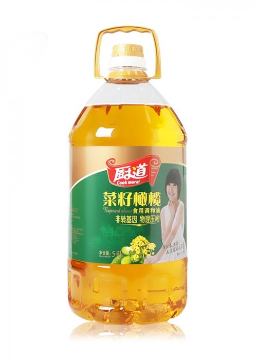 5L菜籽橄榄食用调和油