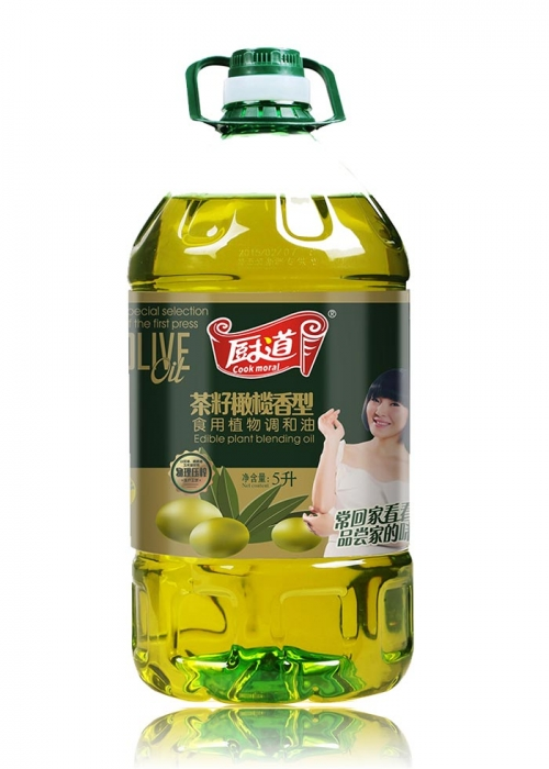 5L茶籽橄榄香型食用调和油