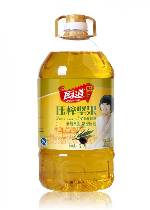 5L压榨坚果调和油
