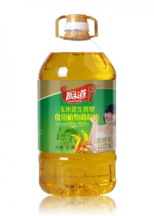 5L玉米花生调和油