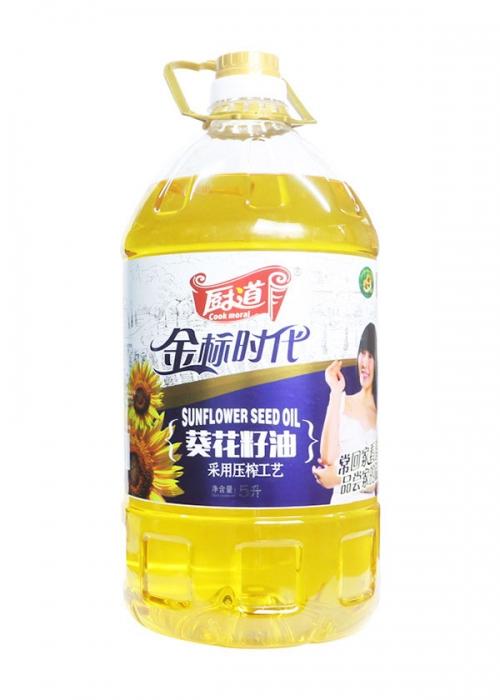 厨道5L葵花籽油(金标时代)