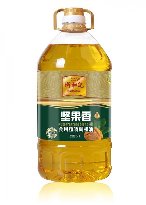 蔡甸衡和记5L坚果香食用调和油