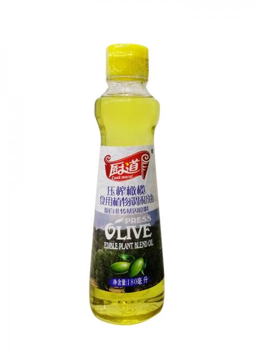 蔡甸180ML压榨橄榄食用调和油