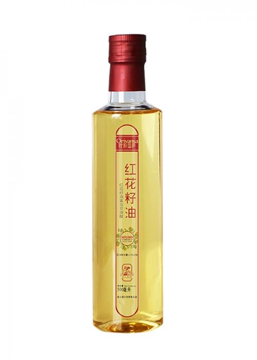 欧莉温萨500ml纯红花籽油